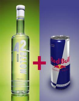 Vodka + Red Bull