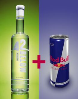 Vodka + Red Bull