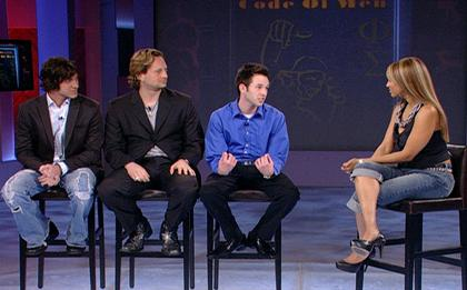 Love Systems(Braddock, Savoy and Mr. M)on the Tyra Banks Show, demonstrating how they can seduce any random girl.
