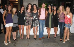 AFC Adams and the entourage of girls he claimed to have picked up at some point.