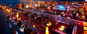 The Coast nighclub and restaurant on the Caribbean island of Antigua