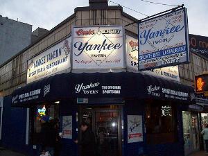 Yankee Tavern Bar in the South Bronx