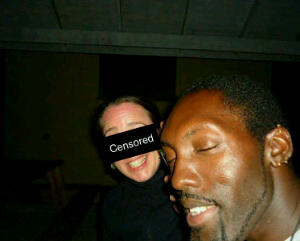 Blinded by the camera flash
