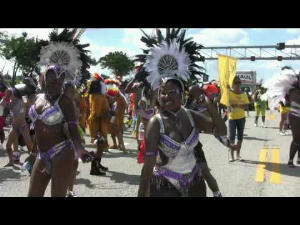 Annual Caribbean Carnival festival held throughout all the islands