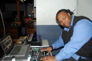 My favorite cousin, Dj Daddy Nate, NYC DJ since the late 1980's [the age of 16].