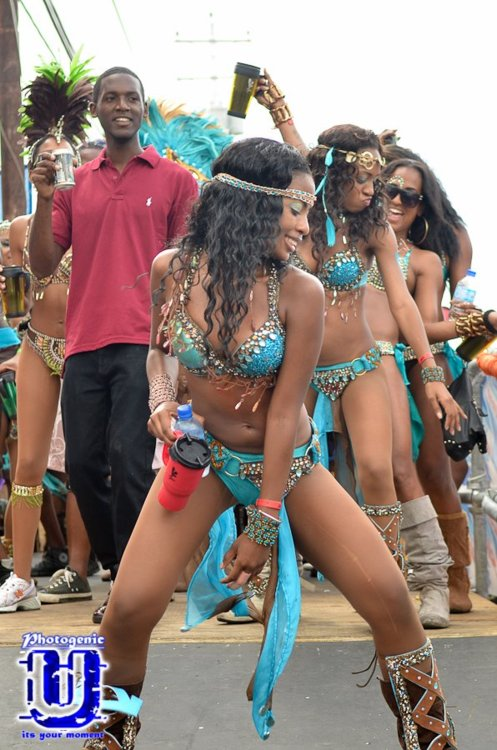 Caribbean carnival festival which takes place in every island