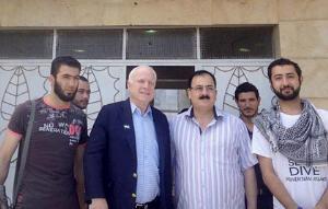 U.S. Senator McCain meets with terrorists in Syria