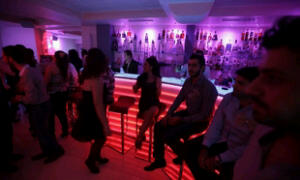 Syrian nightclub where men and women freely mingle unlike in 95% of other islamic states.
