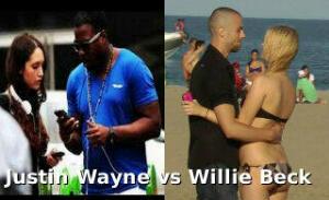 Justin Wayne of New Yor City, USA. Willie Beck of Toronto, Canada