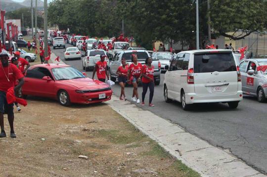 ABLP Political rally on the move