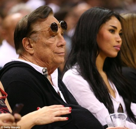 Donald Sterling and his hot girlfriend