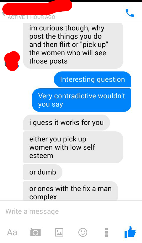 Preselection dating techniques for women