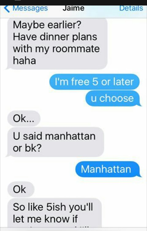 Tinder hookup texts