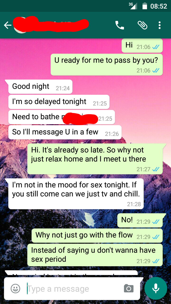 Examples of sexting a girl