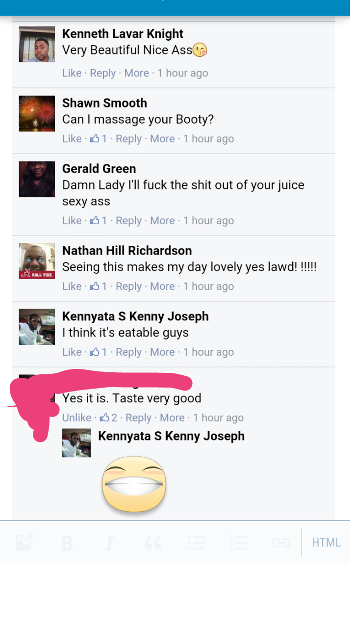 Comments on the girls photo
